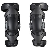Pod Mx K4 V2 Knee Guards Pair Black Graphite