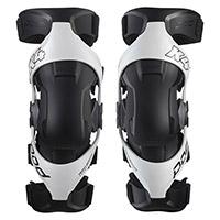 Pod Mx K4 V2 Knee Protectors White Black