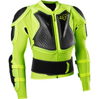 Fox Titan Sport Protection Jacket Yellow