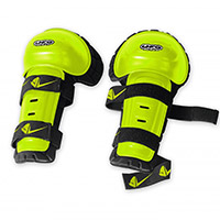 Ufo Knee Guards Yellow