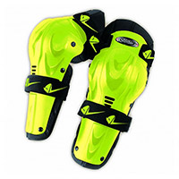 Ufo Professional Knee Guards Yellow Fluo