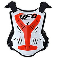 Ufo X-concept Evo Chest Protector Without Shoulders Neon Red