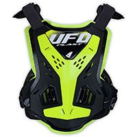 Ufo X-concept Evo Chest Protector Without Shoulders Neon Yellow