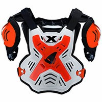 Ufo X-concept Chest Protector With Shoulders Fluo Red