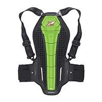 Zandona Hybrid Back Pro X6 Back Protection Green