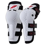 Zandona Jointed Kneeguard Bianco