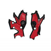 Acerbis X-grip Frame Protections Tenere 700 Red