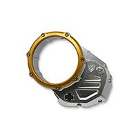 Embrague Cubierta Cnc Racing Ducati plata oro