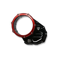 Cnc Racing Cover Clutch Ducati Black Red