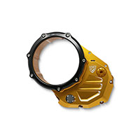 Cnc Racing Cover Clutch Ducati Gold Black