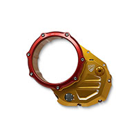 Cnc Racing Cover Clutch Ducati Gold Red