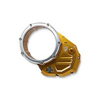 Cnc Racing Cover Clutch Ducati Gold Silver