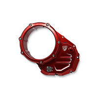 Cnc Racing Cover Clutch Ducati Red
