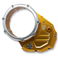 Cnc Racing Ca501 Clutch Cover Gold Silver