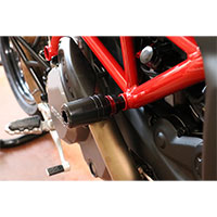 Cnc Racing Frame Pad Hypermotard 950 Black