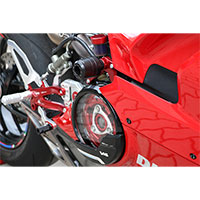 Cnc Racing Frame Pad Ducati Panigale V4 Red - 3
