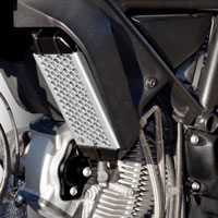 Ducabike Oil Cooler Guard Gr03 Grey