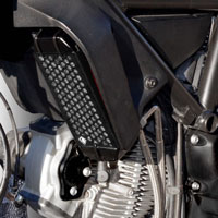 Ducabike Oil Cooler Guard Gr03 Black