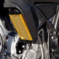 Ducabike Oil Cooler Guard Gr03 Gold