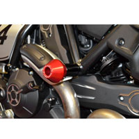 Ducabike Frame Sliders Ducati Ptm02 Red