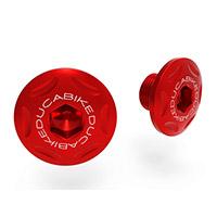 Ducabike Ttf07 Mtsv4 Central Frame Caps Red
