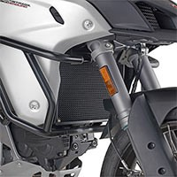 Givi Stainless Steel Pr7408 Radiator Guard Black Painted