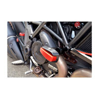Ducabike Protection Frame Ducati Diavel Red