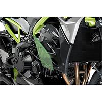 Spoiler Puig Downforce Naked Z900 2020 Verde