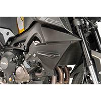Paneles laterales Radiador Puig Negro Yamaha Mt09