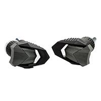 Almohadillas de cuadro Puig R19 Black Yamaha MT09