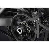 Rizoma Rear Hub Cover Ducati Zdm094 Black