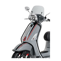 Black Front Protection Bars Vespa