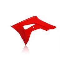 Acerbis Honda Crf450r Radiator Scoops Red