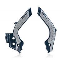 Acerbis X Grip Frame Protector Husqvarna Blue Gray