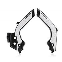 Acerbis X Grip Frame Protector Husqvarna Black White