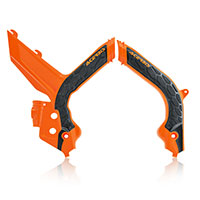 Acerbis X Grip Frame Protector Ktm 2020 Orange