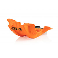 Acerbis Skid Plate Ktm Xc-f 250 Orange Black