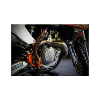 ACERBIS X-GRIP FRAME PROTECTOR KTM SX-SXF 250 11/15 EXC-EXCF 12/16 ORANGE