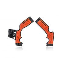 Acerbis X-grip Sx 65 Frame Protector Black Orange