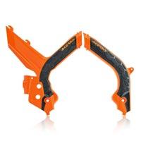 Acerbis X グリップフレームプロテクター Ktm 2019 オレンジ