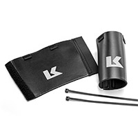 Kriega Kwefk Fork Seal Covers Black