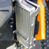Meca System Radiator Protection Ktm Exc 400 - 450 - 530 08/11 - 2