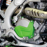 Polisport Clutch Cover Protection Kawasaki Kxf 250 09/16 Green