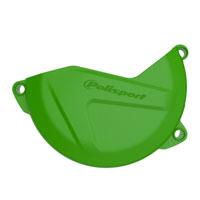 Polisport Clutch Cover Protection Kawasaki Kxf 250 09/16 Green