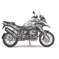 Akrapovic Bmw R1200 Gs Adventure 2017 Slip-on Line (titanium) Nero