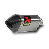 Akrapovic S-d12so1-hapt Slip-on Titanium Ducati Multistrada 1200 / 1200s