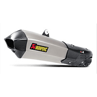 Akrapovic S-d12so7-hhx2t Slip-on Titanio Ducati Multistrada 1200 2017