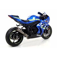 Arrow Terminale Pro-race Con Fondello Titanio Suzuki Gsx-r 1000/gsx-r 1000 R 2017