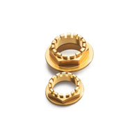 Cnc Racing Rear Wheel Axle Nut Sets Ducati Gold