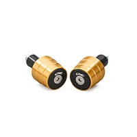 Cnc Handlebar Balancers Bi-color Gold
